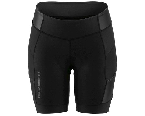 "Louis Garneau Women's Neo Power Motion 7"" Shorts (Black) (M)"