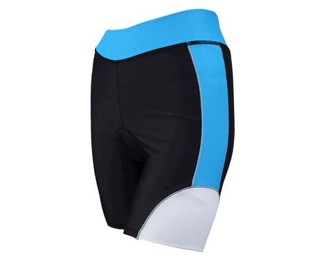Louis Garneau Women's Comp Tri Shorts (Black/Blue)