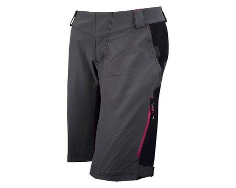 Louis Garneau Zappa Shell Women's Baggy Shorts (Grey) (Xxlarge)