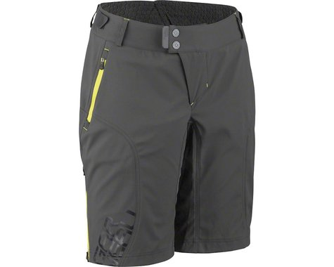 Louis Garneau Women's Off Season Shorts (Gray/Yellow)