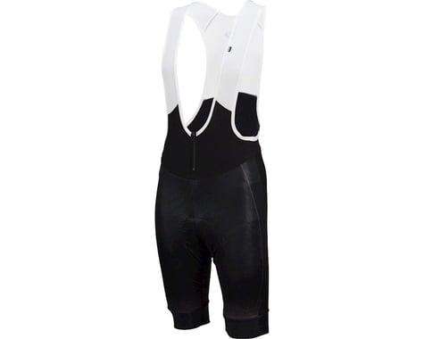 Louis Garneau Course Thermal Bib Shorts (Black/Grey)