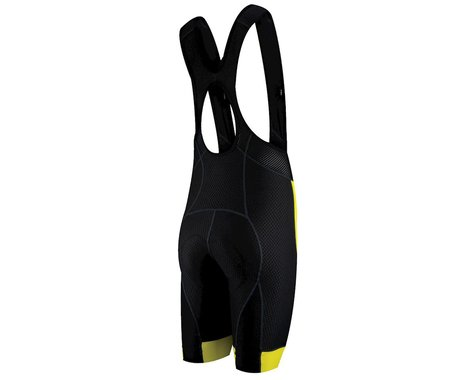 Louis Garneau CB Carbon 2 Bib Shorts (Black/Yellow)