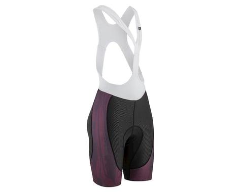 Louis Garneau Women's CB Carbon Lazer Bib Short (Black/Shiraz) (XL)