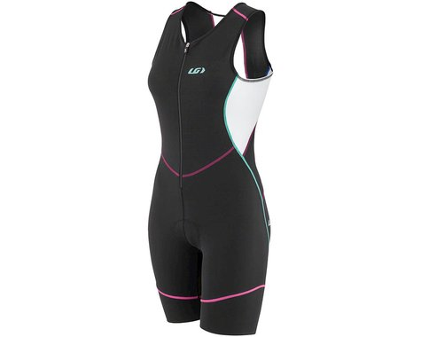 Louis Garneau Tri Comp Women's Tri Skinsuit (Black/Multicolor)