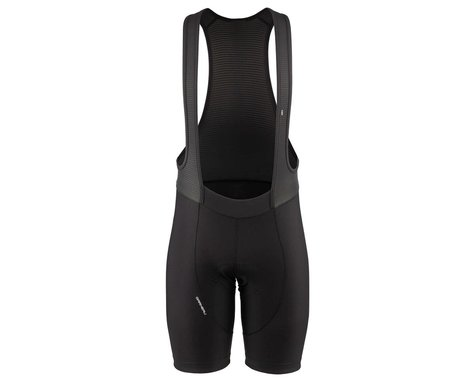 Louis Garneau Men's Fit Sensor Texture Bib Shorts (Black) (L)