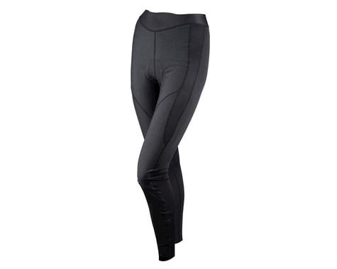 Louis Garneau Women's Solano Chamois Tights (Black) (Xxlarge)