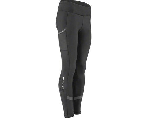 Louis Garneau Women's Optimum Mat Tights (Black) (L)