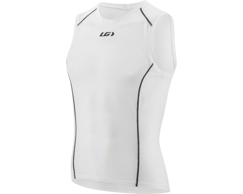 Louis Garneau Supra Sleeveless Base Layer Top (White) (M)