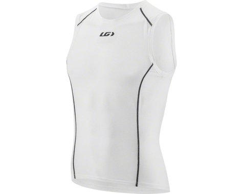 Louis Garneau Supra Sleeveless Base Layer Top (White)