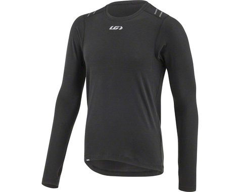 Louis Garneau 2004 Long Sleeve Base Layer (Black) (S)