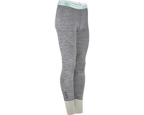 Louis Garneau Women's 2004 Base Layer Bottom Pants (Heather Gray)