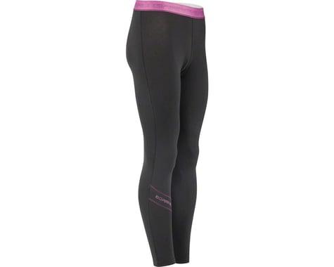 Louis Garneau Women's 2004 Base Layer Bottom Pants (Black/Purple) (L)