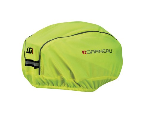 Louis Garneau H2 Helmet Cover (Bright Yellow) (S/M)