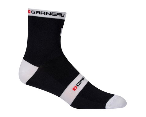 Louis Garneau Tuscan X-Long Socks (Black/White)