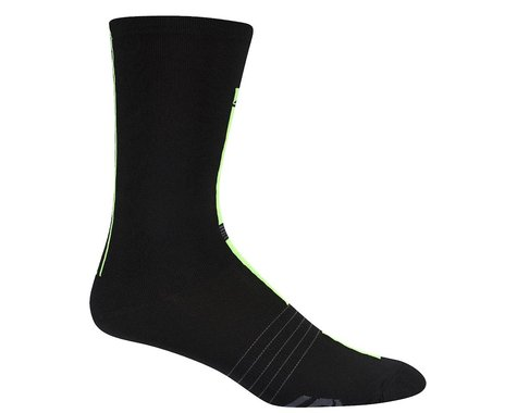 Louis Garneau Tuscan X-Long Socks (Black/Bright Yellow)