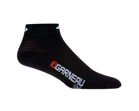 Louis Garneau Low Versis Socks (White) (3 Pairs) (S/M)