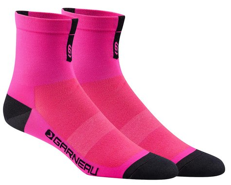 Louis Garneau Conti Socks (Pink Glow) (S/M)