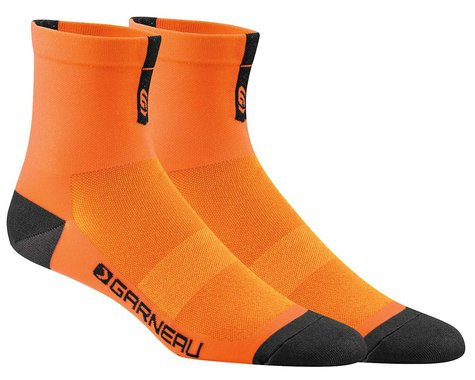 Louis Garneau Conti Socks (Orange Fluo)