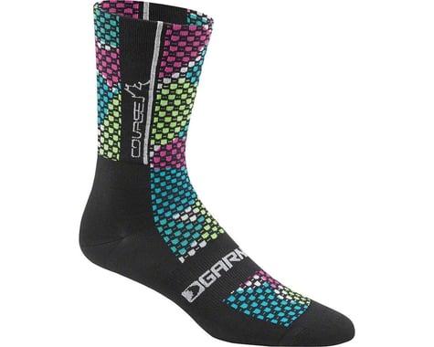 Louis Garneau Women's Course Socks (Black/Multicolor)