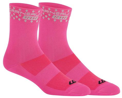 Louis Garneau Conti Long RTR Socks (Pink) (S/M)