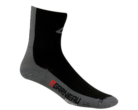 Louis Garneau Yarn Socks (Black)