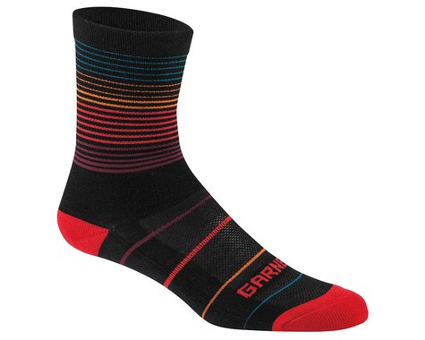 Louis Garneau Merino 60 Socks (Black/Ginger) (L/XL)