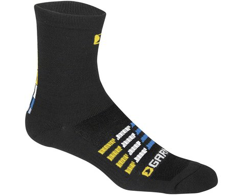 Louis Garneau Merino 30 Socks (Black/Blue) (S/M)