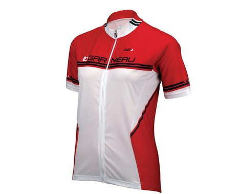 Louis Garneau Women's Equipe Short Sleeve Jersey (Red)