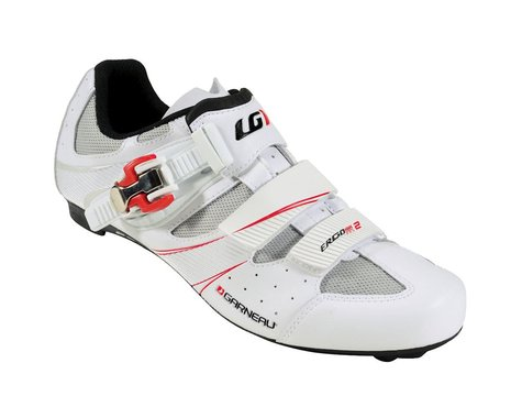 Louis Garneau Ergo Air Pro 2 Road Shoes - Performance Exclusive (White)