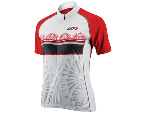 Louis Garneau Women's SE Short Sleeve Jersey - Performance Exclusive (White)