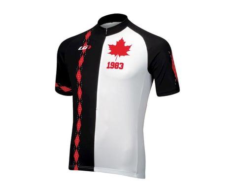 Louis Garneau Tour Short Sleeve Jersey - Performance Exclusive (Black/Red)