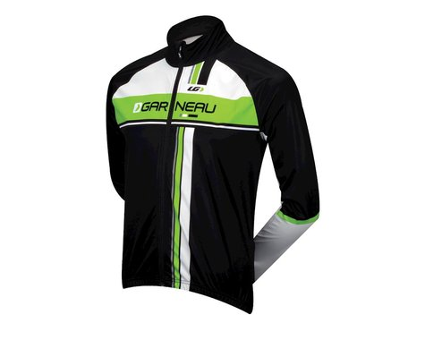 Louis Garneau Boreal II Long Sleeve Jersey - Performance Exclusive (Black / Green)