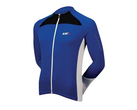 Louis Garneau Tirreno Thermal Long Sleeve Jersey - Performance Exclusive (Blue)