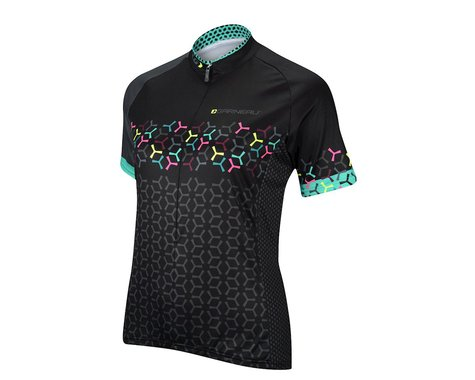 Louis Garneau Women's Tour Short Sleeve Jersey - 2016 Performance Exclusive (Black)