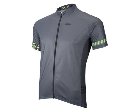 Louis Garneau Equipe GT Series Short Sleeve Jersey (Matte Grey/Neon Green)