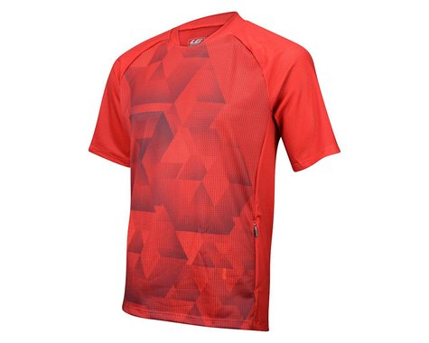Louis Garneau Span Short Sleeve Jersey (Red)