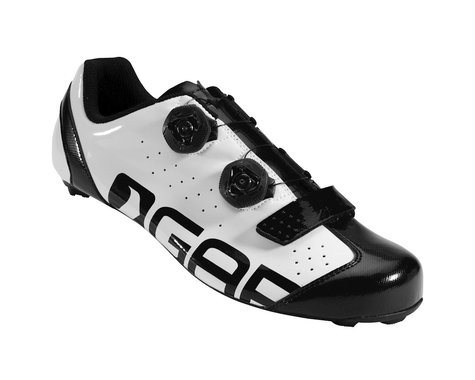 Louis Garneau Strike BOA Road Shoes - Performance Exclusive (Black/White)