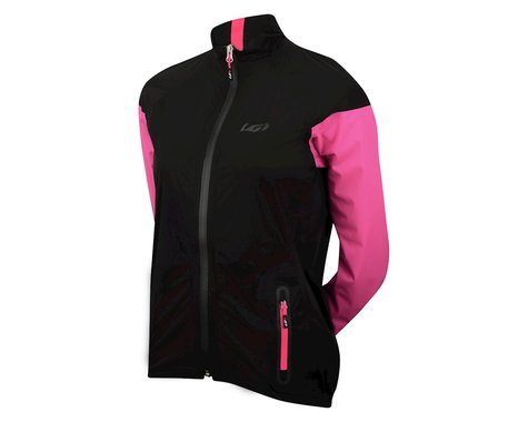 Louis Garneau Women's Torrent RTR Jacket (Black/Pink)