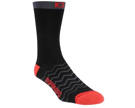 Louis Garneau Premiere Merino Wool Socks - Performance Exclusive (Black/Red)