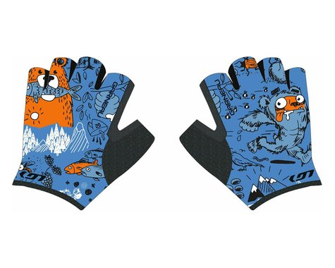 Louis Garneau Kid Ride Cycling Gloves (Monster) (Youth 6)