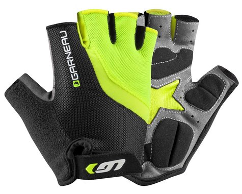 Louis Garneau Men's Biogel RX-V Gloves (Bright Yellow) (M)