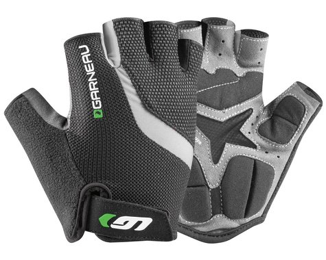 Louis Garneau Men's Biogel RX-V Gloves (Grey/Green) (M)