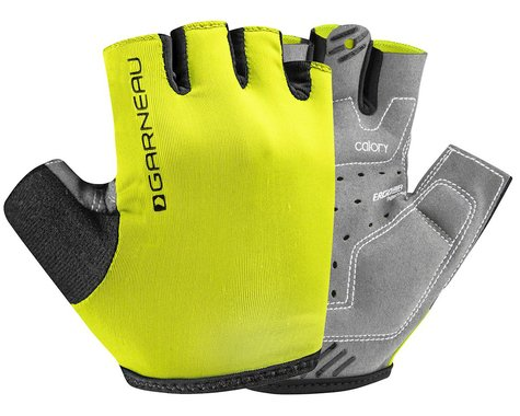 Louis Garneau JR Calory Youth Gloves (Bright Yellow) (Kids M)