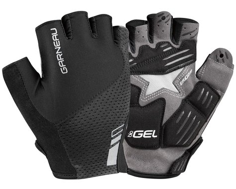 Louis Garneau Women's Nimbus Gel Short Finger Gloves (Black) (M)