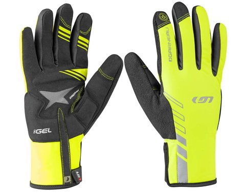Louis Garneau Men's Rafale 2 Cycling Gloves (Yellow) (L)