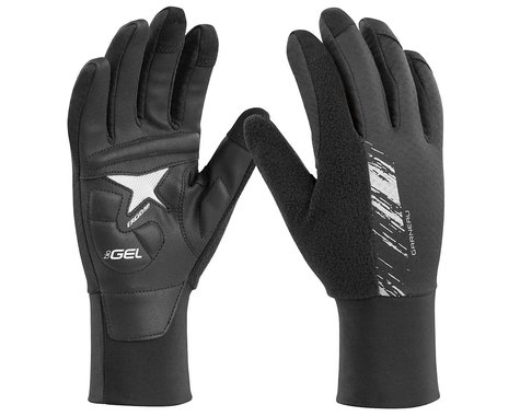 Louis Garneau Women's Biogel Thermal Full Finger Gloves (Black)
