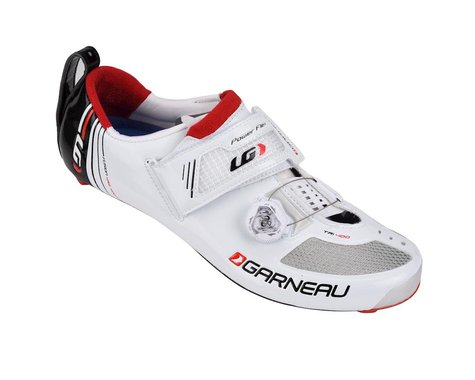 Louis Garneau Tri-400 Tri Shoes (White)