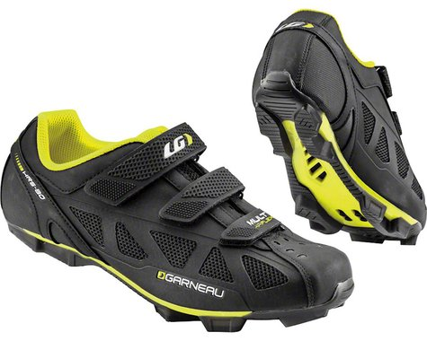 Louis Garneau Multi Air Flex Shoes (Black/Bright Yellow)
