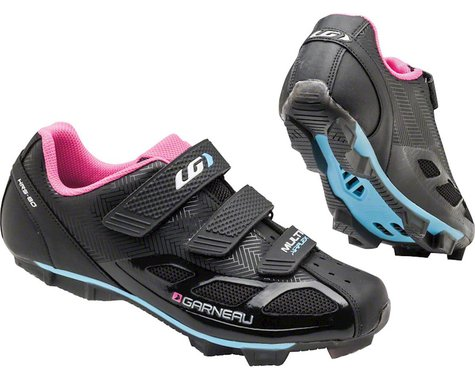 Louis Garneau Women's Multi Air Flex Shoes (Black/Pink) (43)