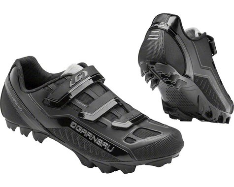 Louis Garneau Gravel Mountain Bike Shoes (Black)